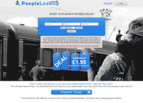 Peoplelookup.co.uk thumbnail