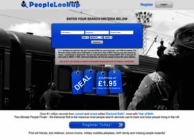 Peoplelookup.co.uk thumbnail