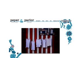 Peperandparlor.com thumbnail