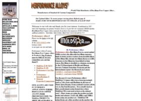 Performancealloys.net thumbnail