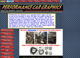 Performancecargraphics.com thumbnail