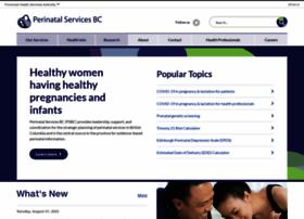 Perinatalservicesbc.ca thumbnail