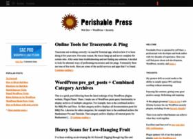 Perishablepress.com thumbnail