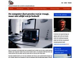 Personalcomputercare.nl thumbnail