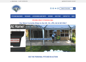 Personal Pitcher Pitching Machines and Hitting Aids