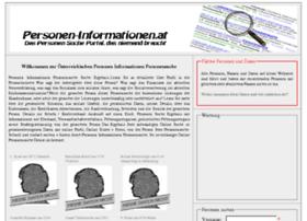 Personen-informationen.at thumbnail