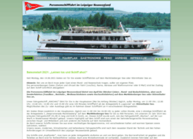 Personenschifffahrt-leipzig.de thumbnail
