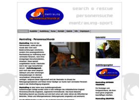 Personensuchhunde.at thumbnail