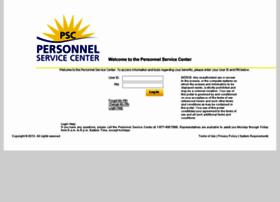 Personnelservicecenter.com thumbnail
