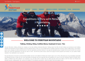 Peruvian-mountains.com thumbnail