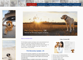 Petchipregistry-uk.info thumbnail