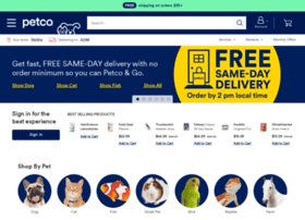Petco.com thumbnail