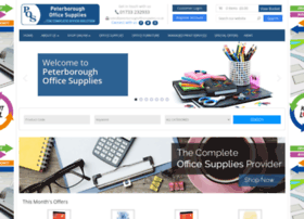 Peterboroughofficesupplies.co.uk thumbnail