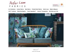 Peterleesfabrics.co.uk thumbnail
