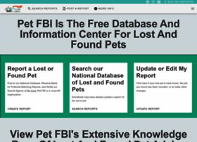 Petfbi.org thumbnail