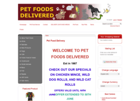 Petfoodsdelivered.com.au thumbnail