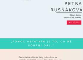 Petrarusnakova.cz thumbnail