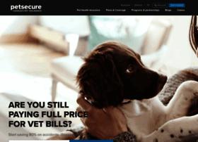 Petsecure.com thumbnail