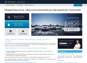 Peugeot-assurance.fr thumbnail