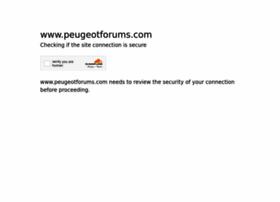 Peugeotforums.com thumbnail
