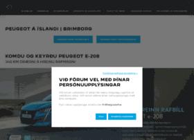 Peugeotisland.is thumbnail