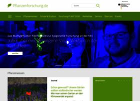 Pflanzenforschung.de thumbnail