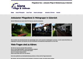 Pflegedienst-nora.de thumbnail