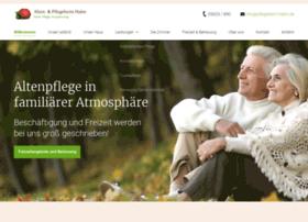 Pflegeheim-hahn.de thumbnail