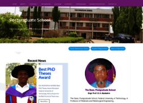 Pg.futminna.edu.ng thumbnail