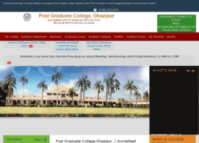 Pgcghazipur.co.in thumbnail