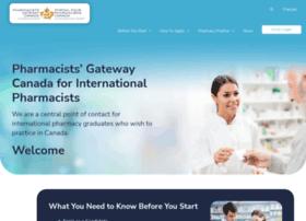 Pharmacistsgatewaycanada.ca thumbnail