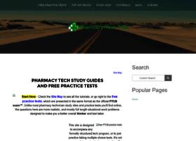 Pharmacy-tech-test.com thumbnail