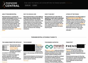 Phenomecentral.org thumbnail