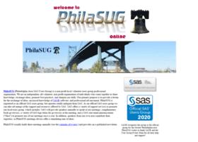 Philasug.org thumbnail
