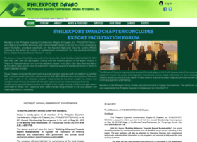 Philexportdavao.org thumbnail
