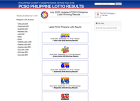Philippine-lotto-results.com thumbnail