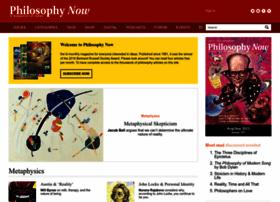 Philosophynow.org thumbnail