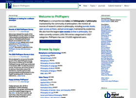 Philpapers.org thumbnail