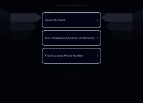 Phonenumbersearch.org thumbnail