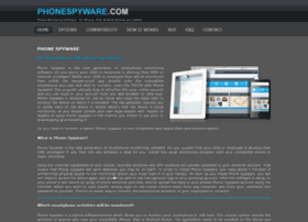 Phonespyware.com thumbnail