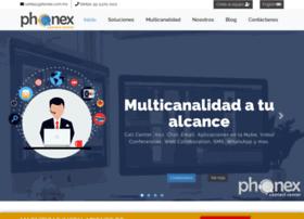Phonex.com.mx thumbnail
