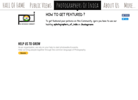 Photographersofindia.in thumbnail
