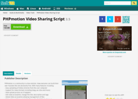 Phpmotion-video-sharing-script.soft112.com thumbnail