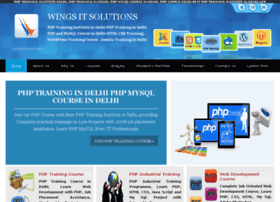 Phptraininginstitute.co.in thumbnail