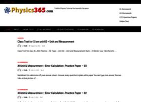 Physics365.com thumbnail