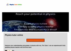 Physicstutoronline.co.uk thumbnail