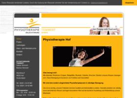 Physiotherapie-hof.de thumbnail