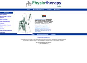 Physiotherapy.co.za thumbnail