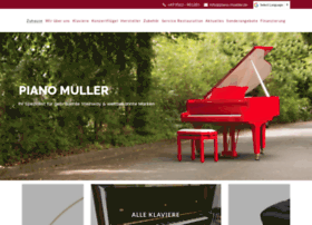 Piano-mueller.de thumbnail