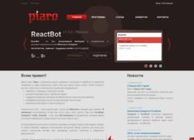 Piaro.org thumbnail